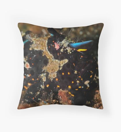 Painted Frogfish Throw Pillow