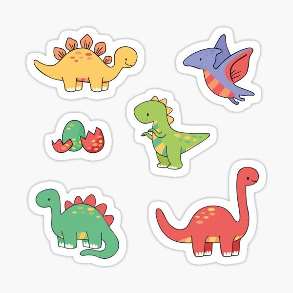 Pack de dinosaurios Pegatina