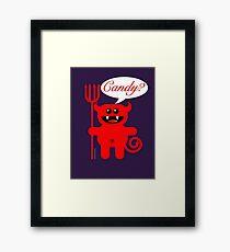 CANDY? Framed Print