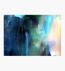 Perceptive Meditation Photographic Print