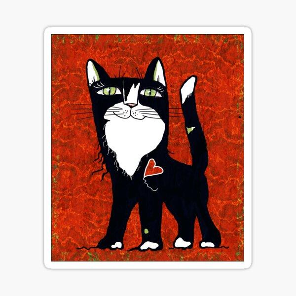 Valentin Tuxedo Sticker