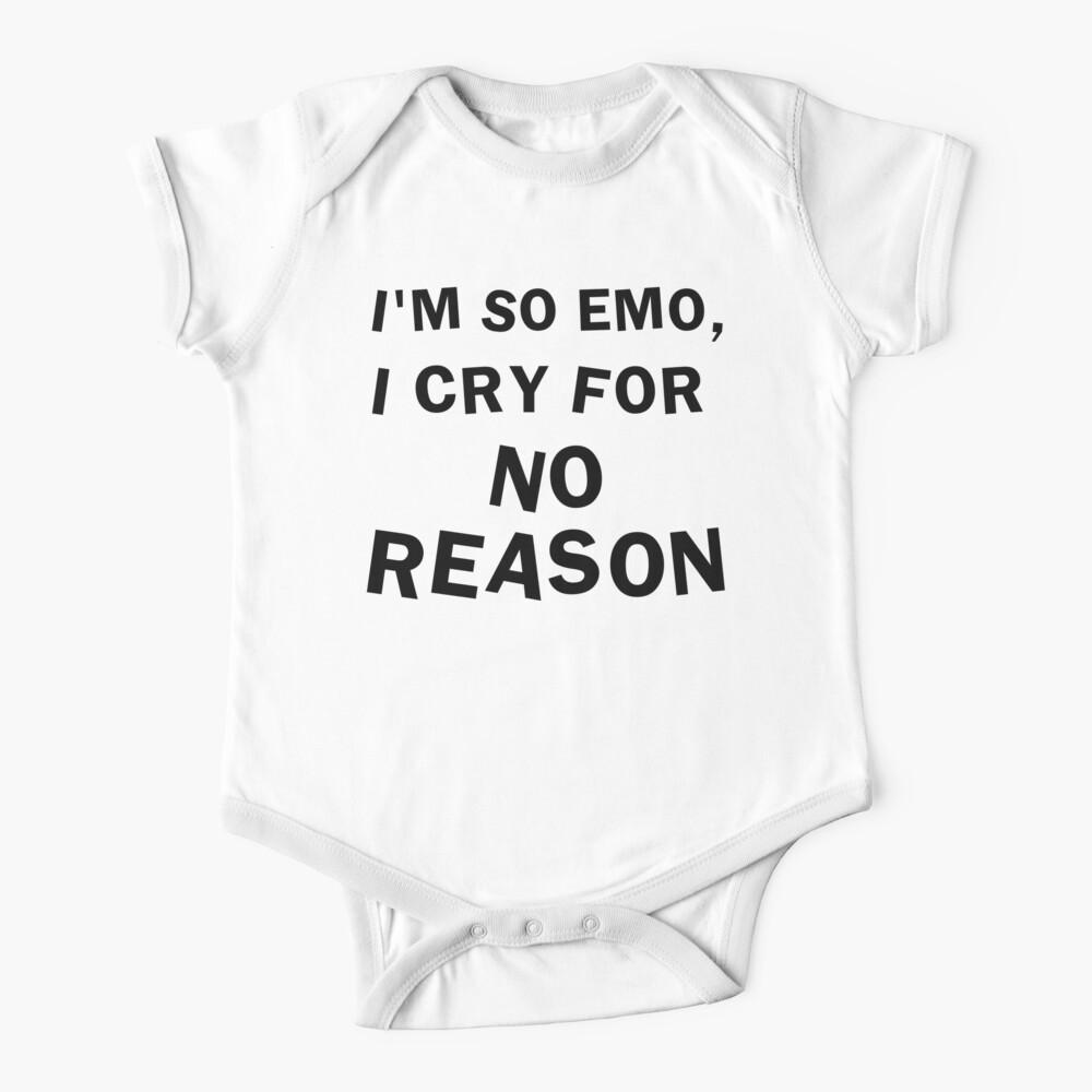I'm So Emo Baby One-Piece
