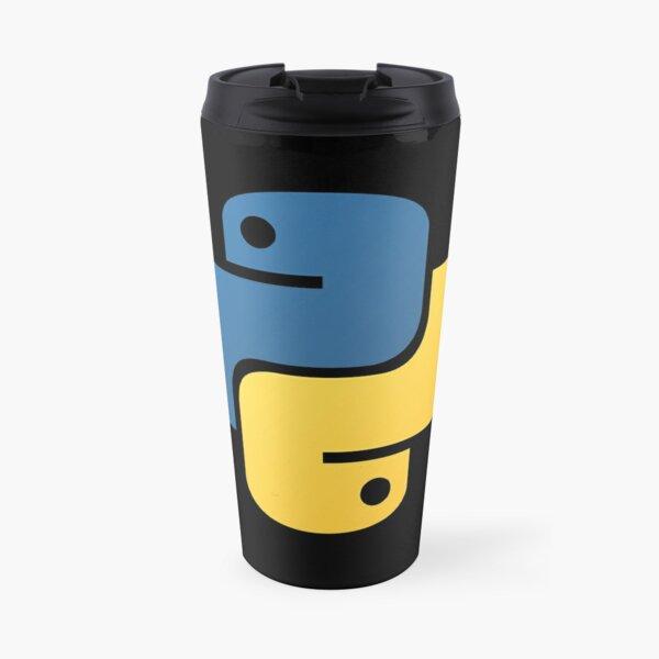 Official Python Logo Travel Mug