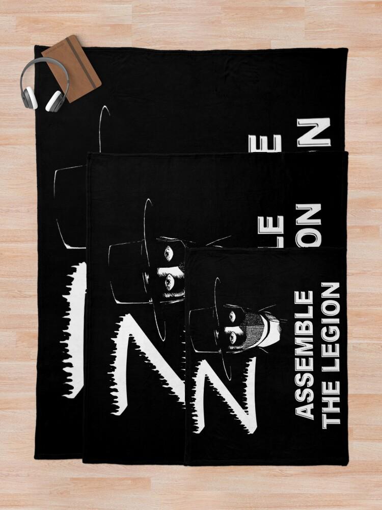 Alternate view of Zorro - Assemble the Legion Throw Blanket
