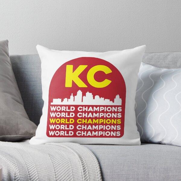 Kansas City Champions Throw Pillow