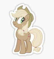 Applejack lies Sticker
