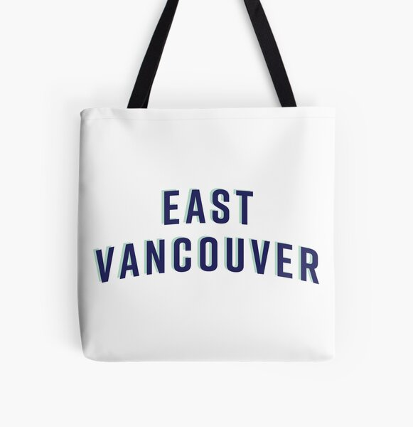 East Vancouver All Over Print Tote Bag