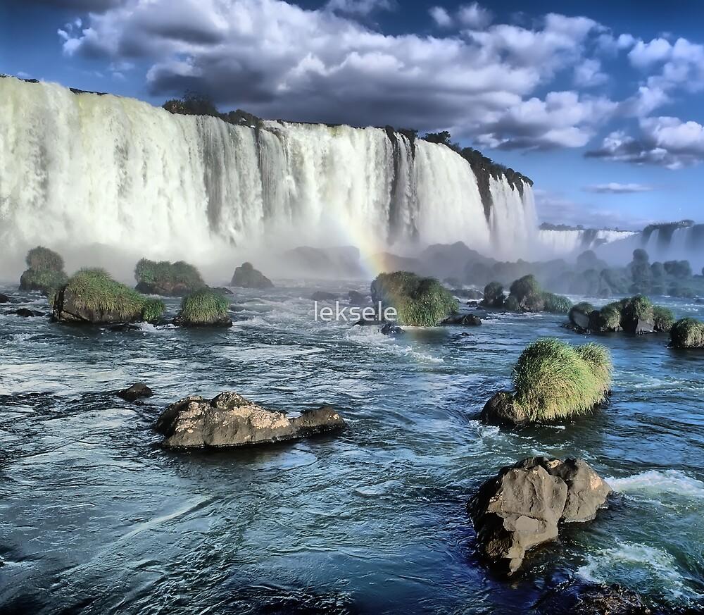 Iguasu falls Brazil by leksele