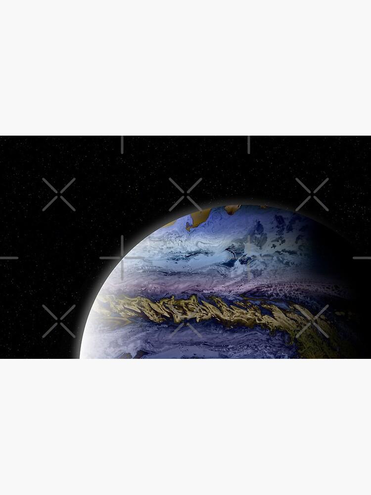 Planet Theta: Outer Space Art by kerravonsen