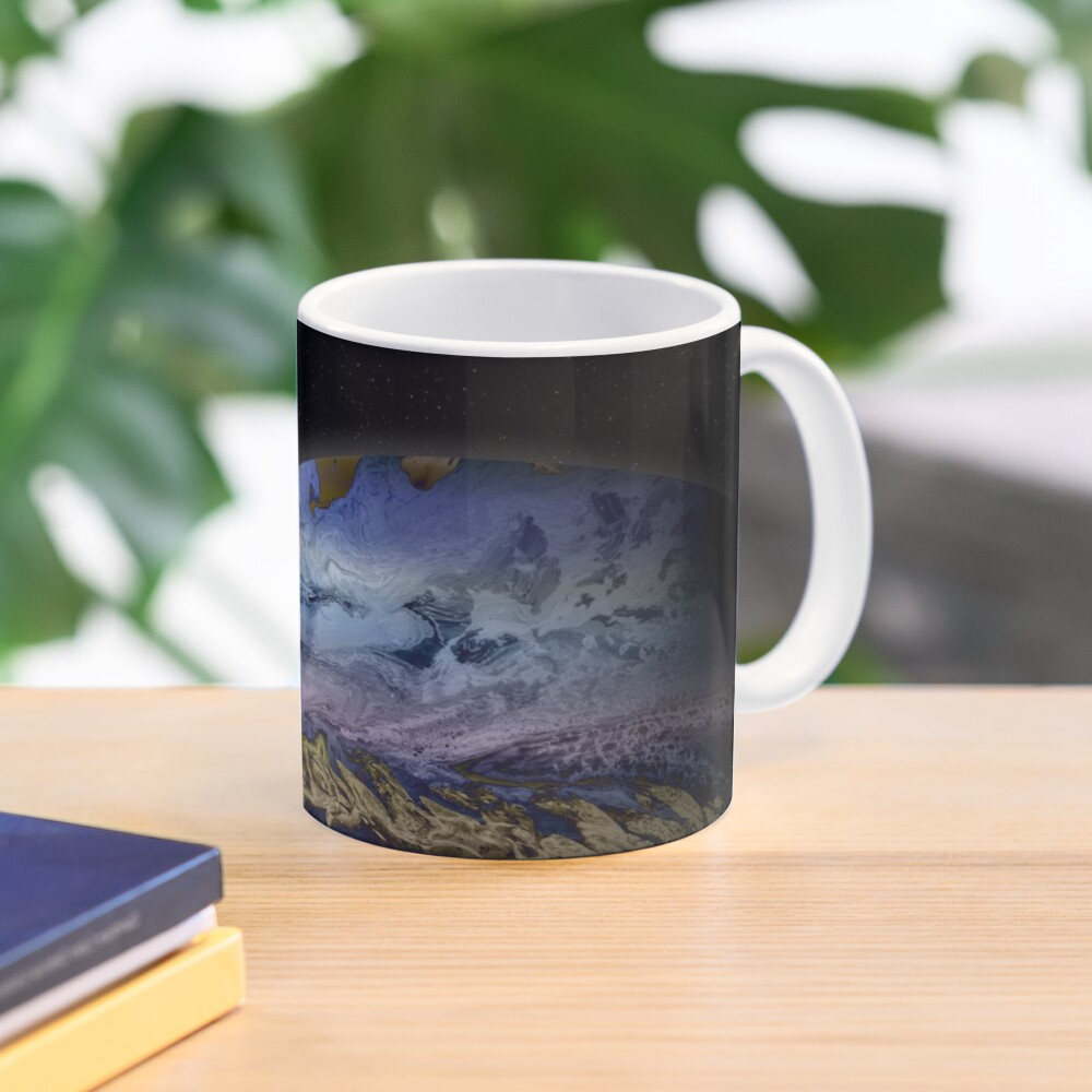 Planet Theta: Outer Space Art Mug