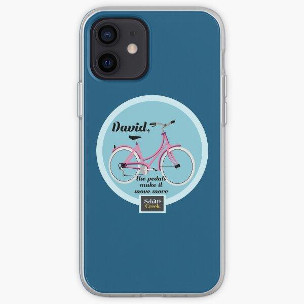 Schitt's Creek David's Pink Bike iPhone Soft Case