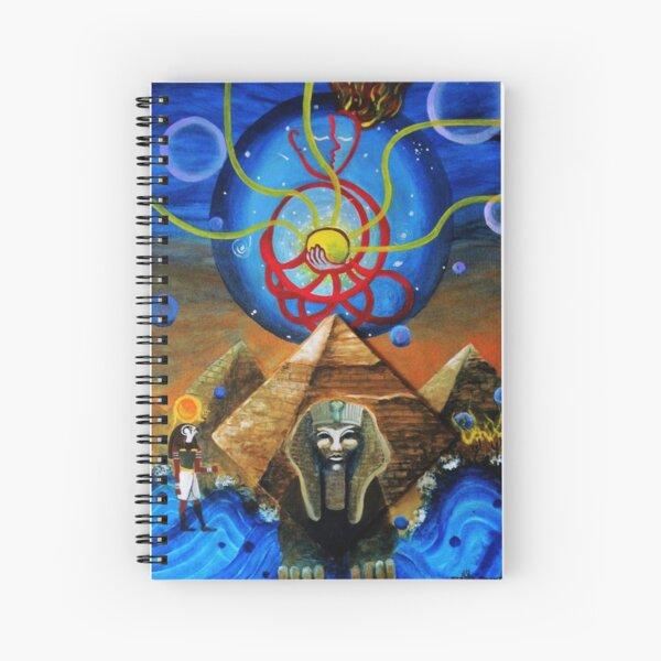 Ahau and Ra Spiral Notebook