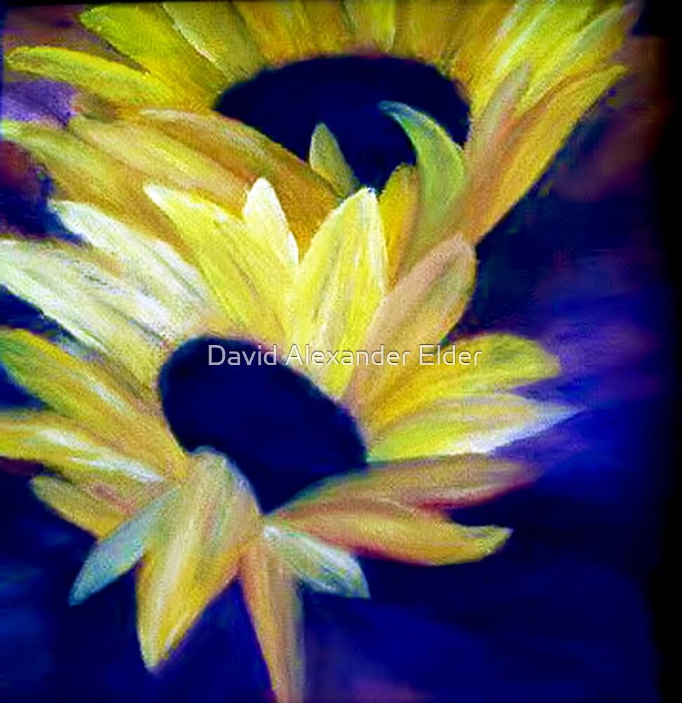 Sunflowers by David Alexander Elder