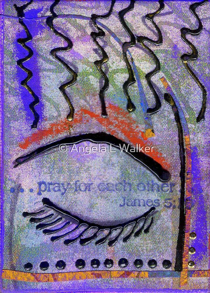 Let Us Pray by © Angela L Walker