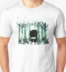 A Quiet Spot in Green Unisex T-Shirt
