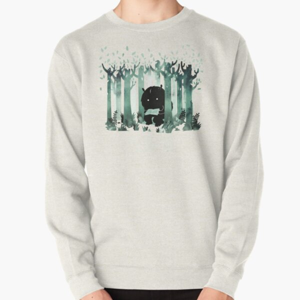 A Quiet Spot in Green Pullover Sweatshirt
