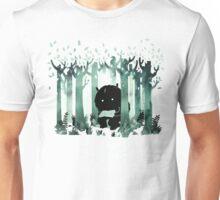 A Quiet Spot in Green Unisex T-Shirt