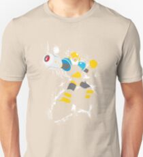 Flash Man Splattery Vector T T-Shirt