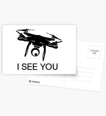 I'll see you Drone Postcards
