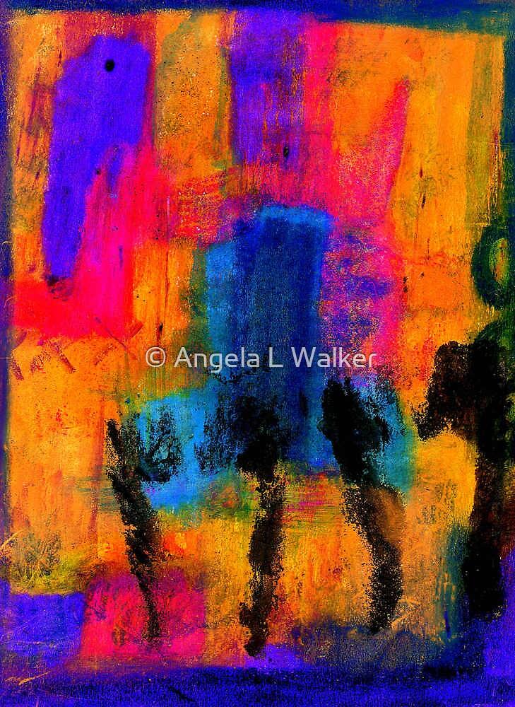 Woman with Three Legs by © Angela L Walker