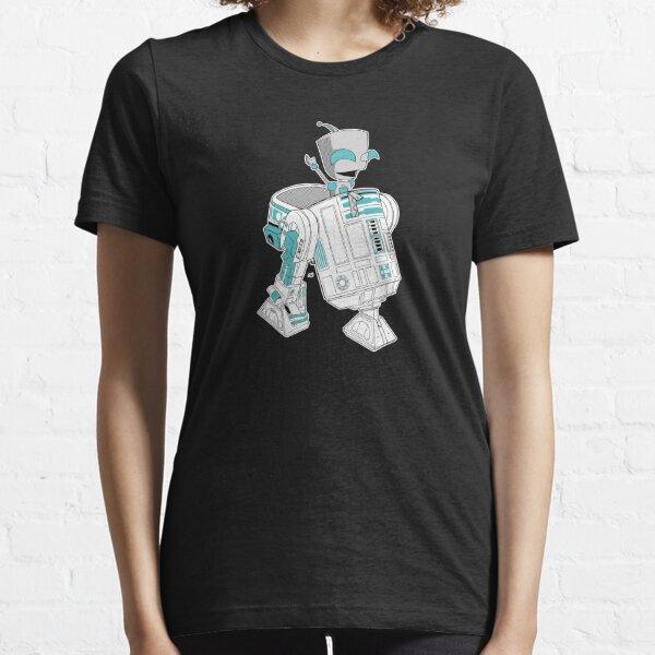 Two little robots - colour version Essential T-Shirt