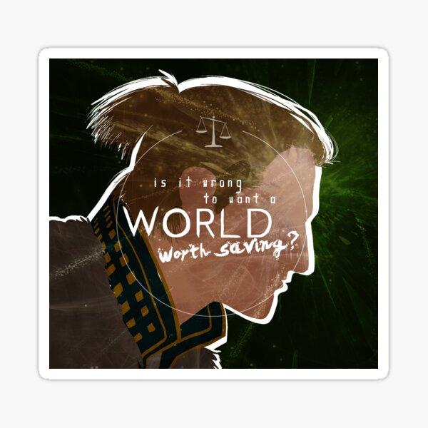 Anders - A World Worth Saving Sticker