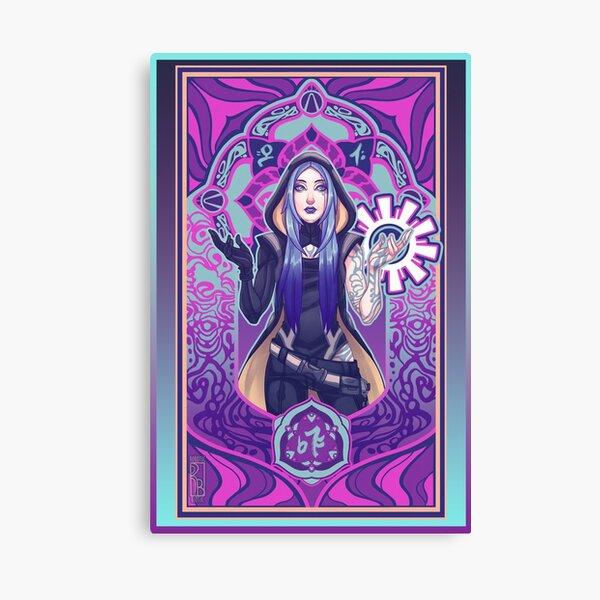 Psychedelic Maya Canvas Print