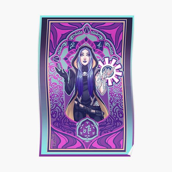 Psychedelic Maya Poster