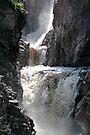 High Falls Gorge - Lake Placid New York by Debbie Pinard