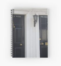 The House with Two Doors Spiral Notebook