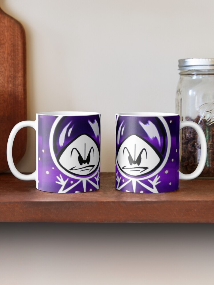 Alternate view of Colonel Bleep In Retro Outer Space. Mug