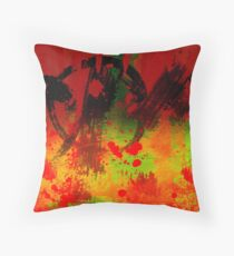 Darkness Robbed the Sun One Day Throw Pillow