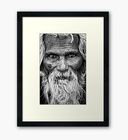 The Eyes are the Key to the Soul Framed Print