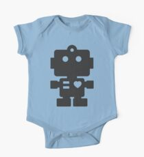 Robot - Simple Black Kids Clothes