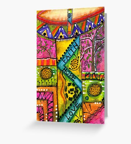 Drum Land Greeting Card