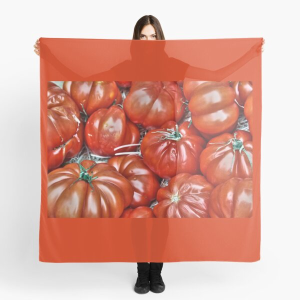 Big Red Tomatoes Scarf