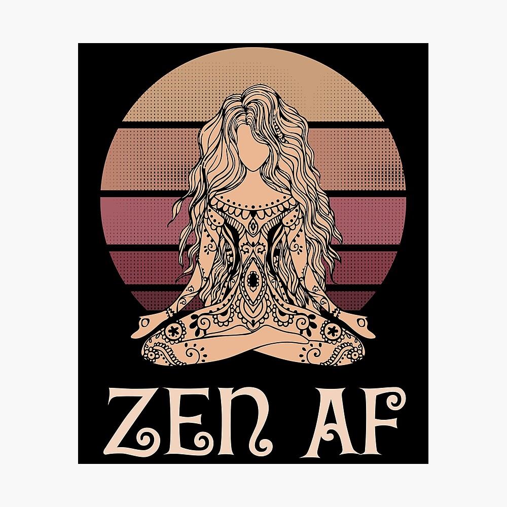 Zen AF Funny Spiritual Long Sleeve Funny Custom Baby Onesies