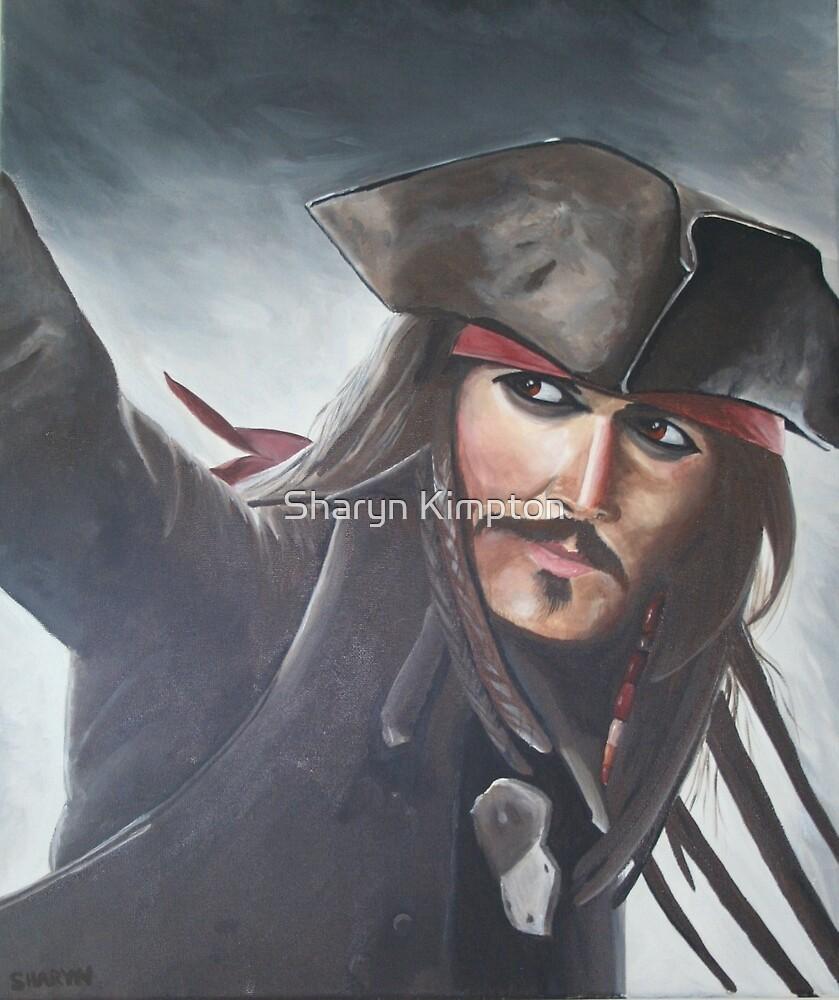 Captain Jack Sparrow - Johnny Depp by Sharyn Kimpton