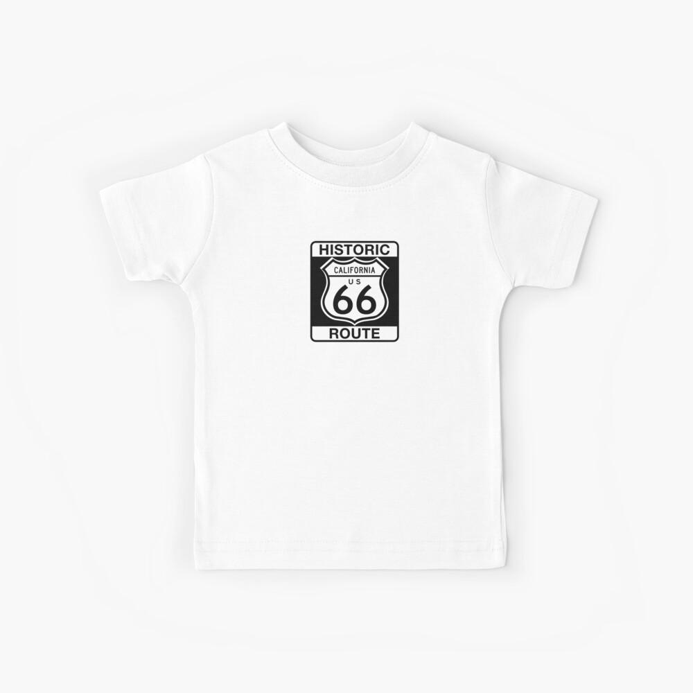 Historic Route 66, California Kids T-Shirt