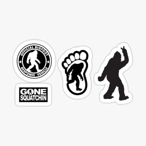 Bigfoot Stickers Sticker