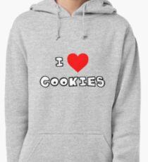 I Heart Cookies Pullover Hoodie