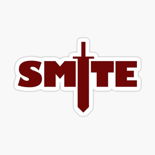 SMITE Red Sticker