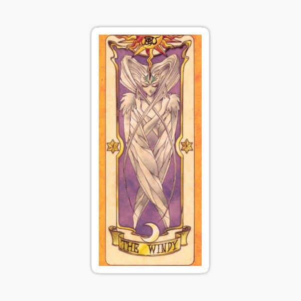 "Clow card ""The Wind"" Sticker"