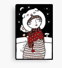 Lumi Olento (Hear no Evil) Canvas Print