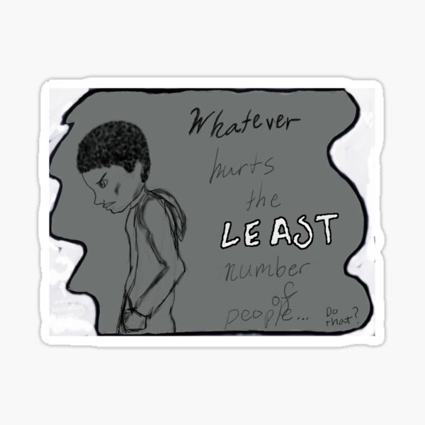 Becoming Hero-Jace Least Number of People Sticker