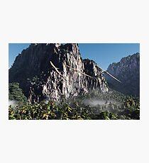 Prehistoric Cerro Verde Photographic Print