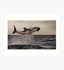 Air Jaws Art Print