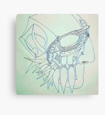 Mask of Existentialism Canvas Print