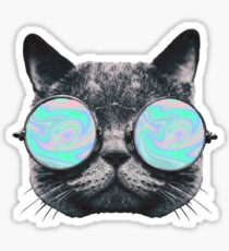 Cat Eye Hologram Sticker