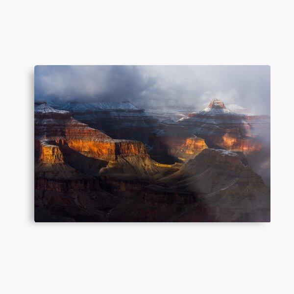 Grand Canyon spotlights Metal Print